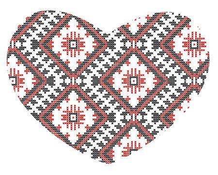 vector Ukrainian national ornaments