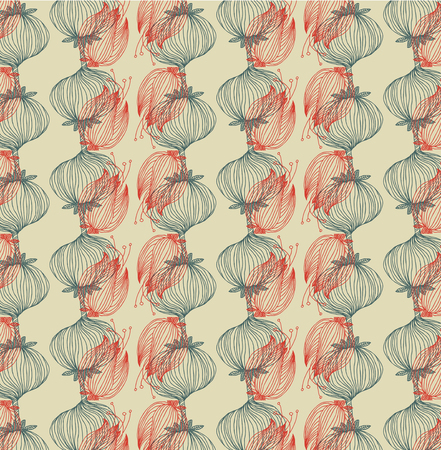 Vector floral background pattern Illustration