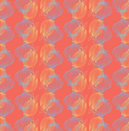 Vector floral background, pattern vector illustration.