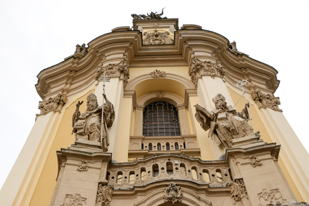 the Cathedral of St. Jura Lviv in Lviv the baroque rococo ensemble of the XVIII century.
