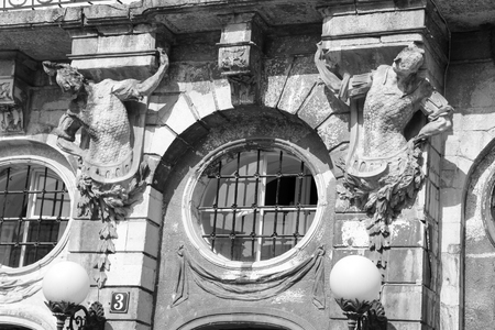 architectural decoration old windows