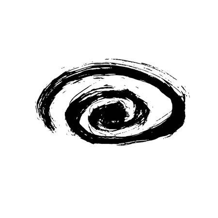 Grunge Ink pen Stroke.