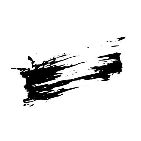 Grunge spiral, circle drawn with ink pen Stroke