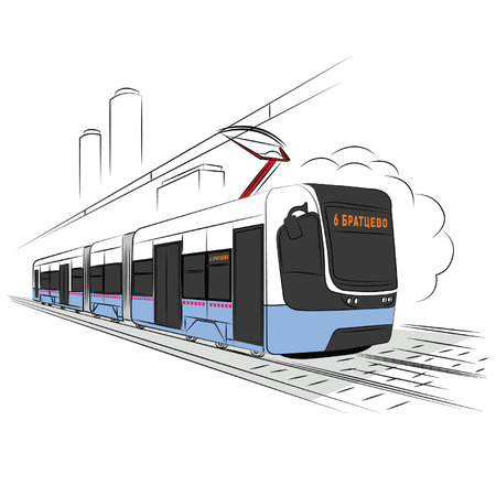 moscow: moscow tram