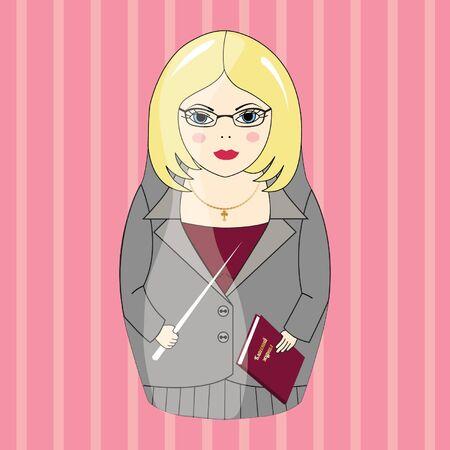 matreshka: Russian doll teacher
