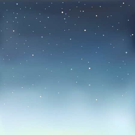 nighttime: Vector illustration in eps 10 format of a starry sky.