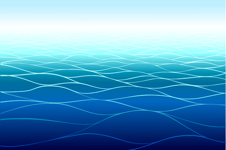 horizontal: Sea background. Horizontal pattern.