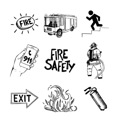 salvation: Fire safety and means of salvation.