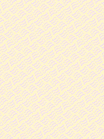 Abstract pale yellow background with decorative lilac mustache