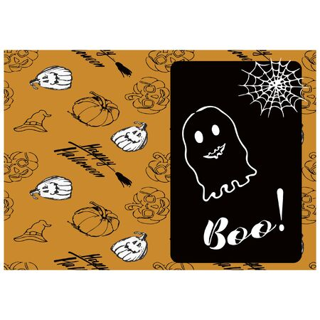 Halloween backgrounds collection. All Hallows Night holiday design.