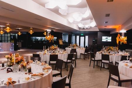 Wedding hall Rustic banquet