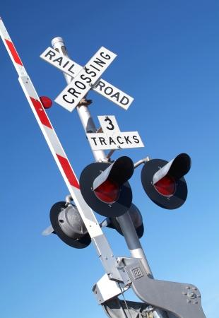 Barrier level crossing Banque d'images