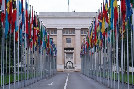 nazioni unite: Luogo delle Nazioni Unite a Ginevra