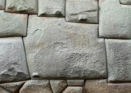 sided: 12 sided Inca Hatunrumiyoc stone  Cuzco, Peru
