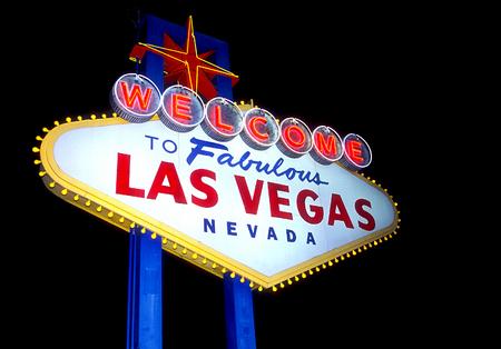 vegas strip: Welcome to Las Vegas sign