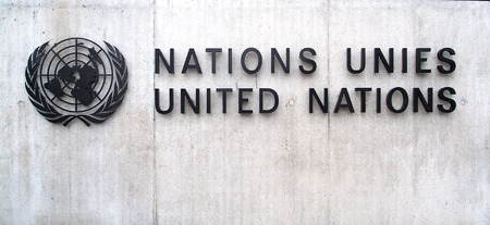 united nations: Building of the United Nations in Geneva (Switzerland) Editorial
