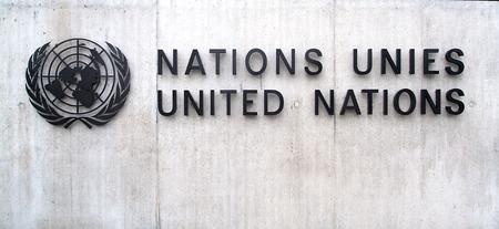 onu: Building of the United Nations in Geneva (Switzerland) Editorial