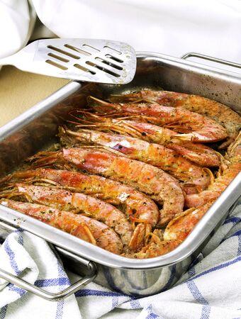 fateful: prawns Stock Photo