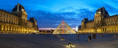 louvre: Louvre Museum in Paris, France
