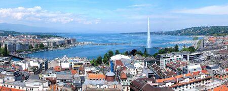 leman: Geneva, the Leman Lake and the Water Jet