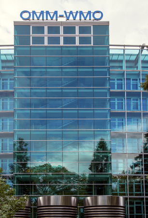 Building of the World Meteorological Organization (WMO) in Geneva, Switzerland