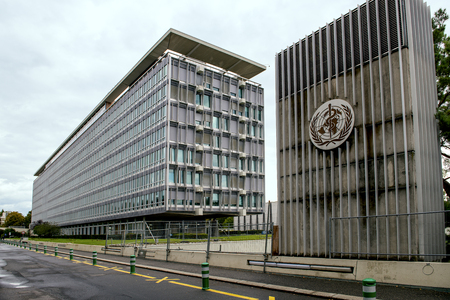 Building of the World Health Organization (WHO) in Geneva, Switzerland, specialized agency of the United Nations that is concerned with international public health