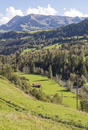 Mountains landscape Banque d'images
