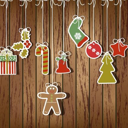 estrellas de navidad: Navidad ilustración de fondo
