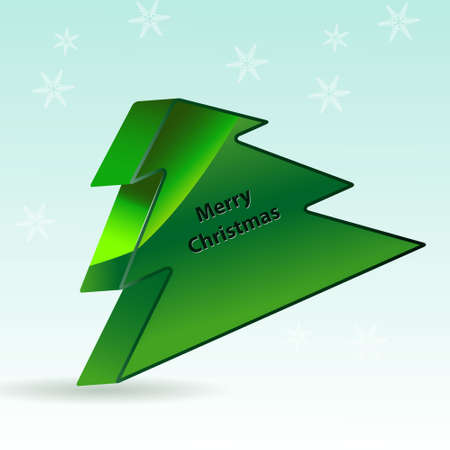 3D Tree illustration Vector