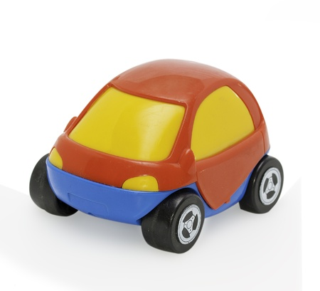 Childrens toy car Stock Photo