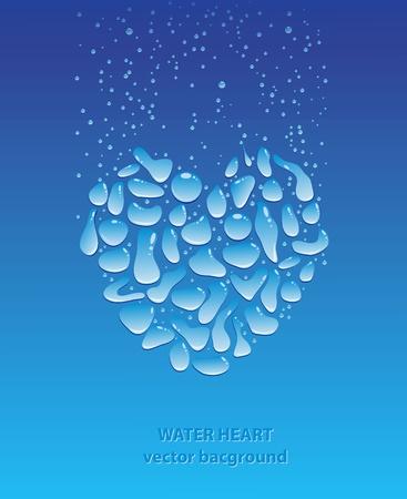 organic spa: Water drops