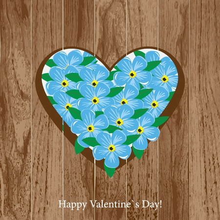 Valentine`s Day card Stock Photo - 11935243