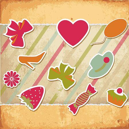 wrapper: Valentines Day. Illustration
