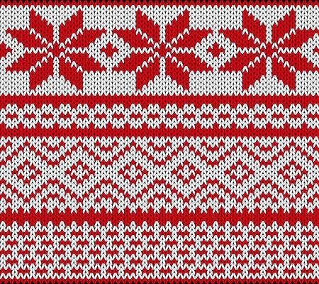 pullover: Traditionellen skandinavischen Muster Illustration