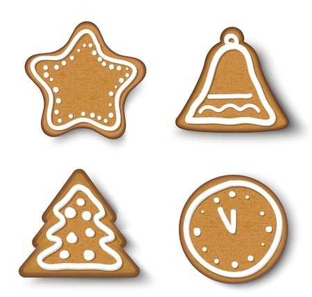 holiday cookies: Navidad Ginger