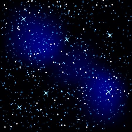 sky: Hintergrund in Form eines Sternenhimmels Illustration
