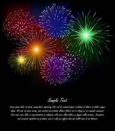 fireworks background: Firework