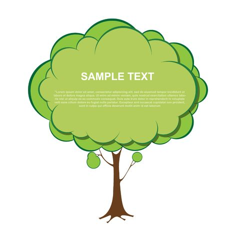 Tree banner Stock Vector - 17473603