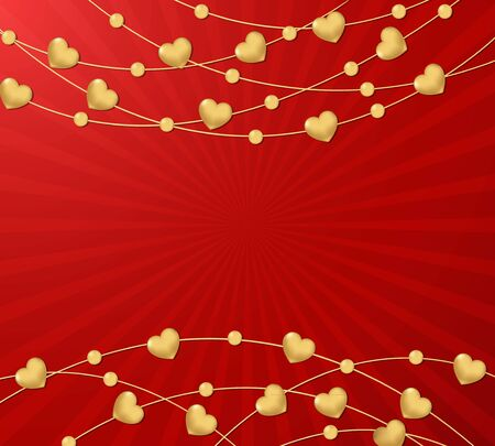 Red Valentine s day background photo