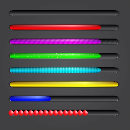 Progress bar. Vector