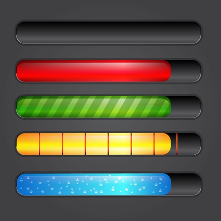 Progress bar. photo