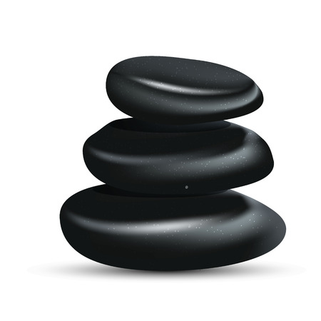 spa stones: Spa zen stones Illustration