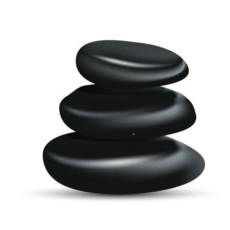 zen: Spa zen stones Illustration