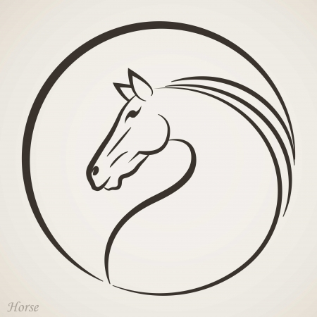 harness: Horse head icon
