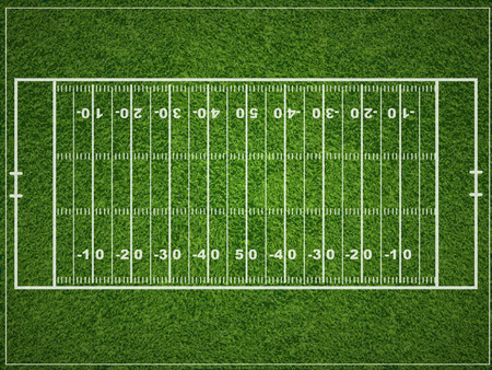 football games: American football field.