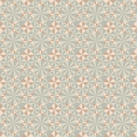 vector seamless geometric pattern in pastel colors Vector