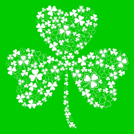 st  patrick s day: greeting card for St  Patricks day