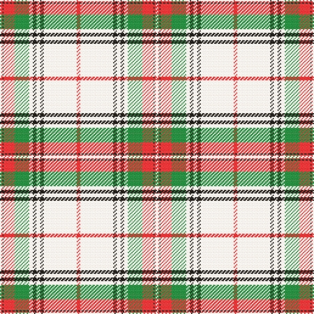 vector seamless pattern Scottish tartan Stewart Stock Vector - 25493556