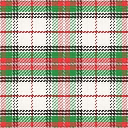vector seamless pattern Scottish tartan Stewart Stock Vector - 25493556