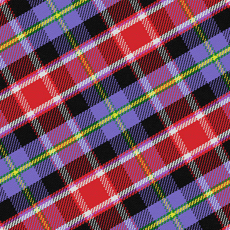 seamless pattern Scottish tartan Colorado Vector